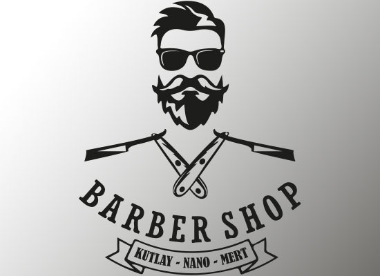 Barber Logo Design-0 | Plug Digital Works ltd.
